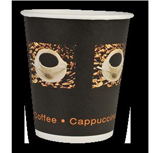 Papírový kelímek 400 ml COFFEE TO GO - Beans (pr. 90 mm) (50 ks)