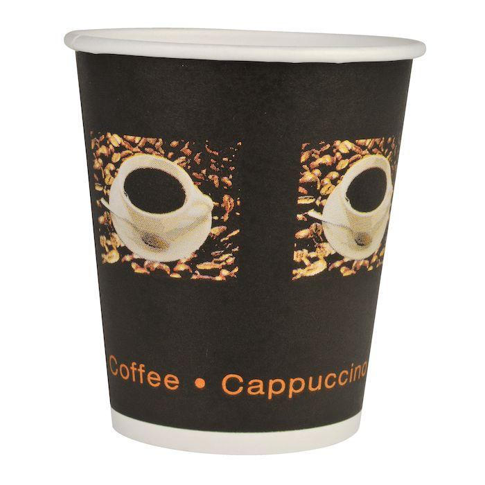 Papírový kelímek 480 ml COFFEE TO GO - Beans (pr. 90 mm) (50 ks)