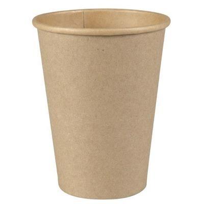 Papírový kelímek 280 ml COFFEE TO GO - Kraft (pr. 80 mm) (50 ks)