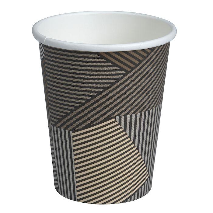 Papírový kelímek 480 ml COFFEE TO GO - Lines (pr. 90 mm) (50 ks)