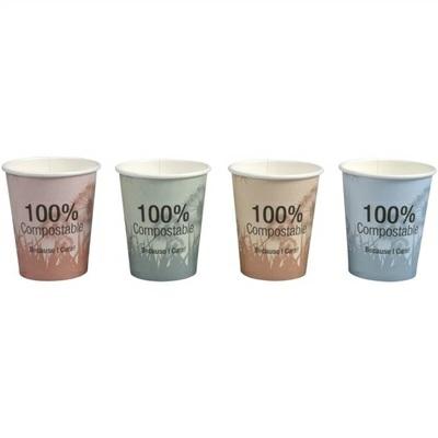 Papírový kelímek 380 ml BIO COFFEE TO GO (pr. 90 mm) ( 50 ks)