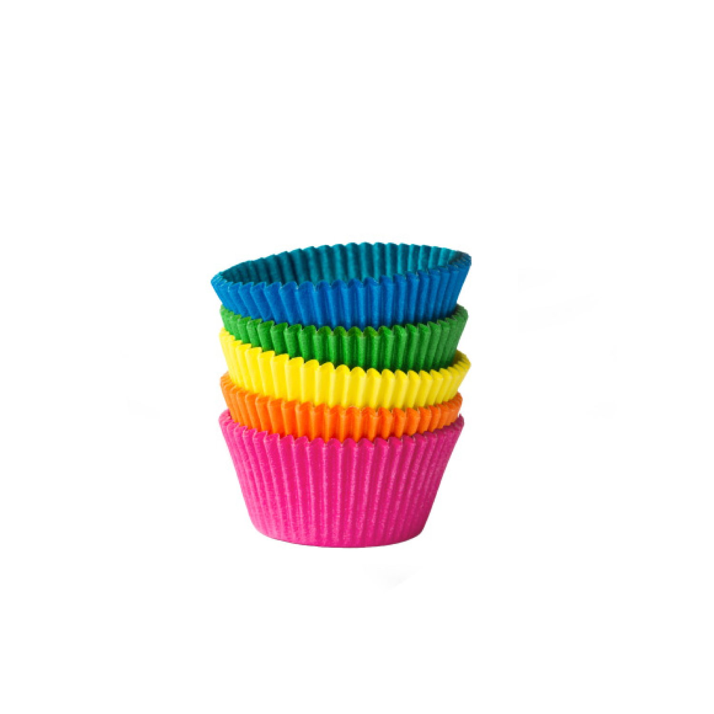 Cukrářské košíčky barevné mix pr. 50 x 30 mm (100 ks)
