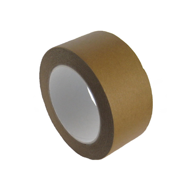 Lepící páska papírová, hnědá 50 m x 50 mm (1 ks)