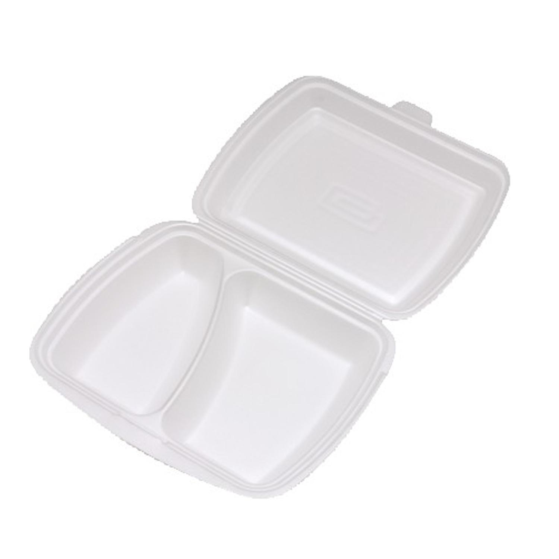 Menu box 2-dílný bílý 241 x 207 x 69 mm (125 ks)