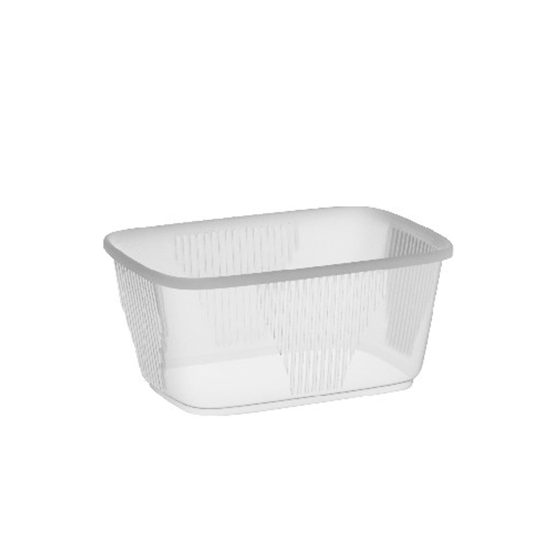 Miska plastová hranatá průhledná 250 ml (PP) (100 ks)