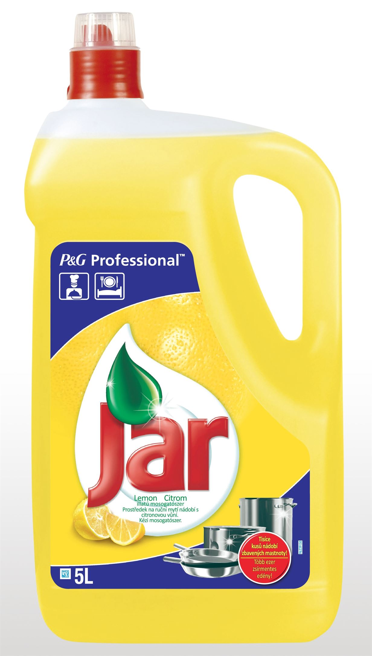 Jar FAIRY Professionall  Lemon 5 l